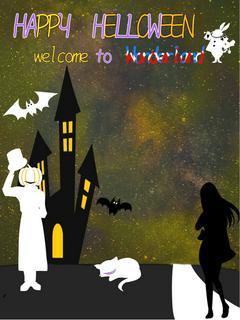 HAPPY HALLOWEEN─welcome to Wonderland─