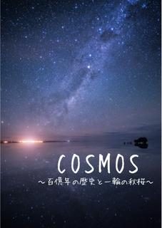 COSMOS ~百億年の歴史と一輪の秋桜~