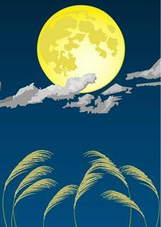 月夜の案内人