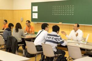 見学だけではなく、入試課職員による個別の入試相談コーナーもありました。志望学類のこと、受験方法のこと、学生生活のことなど疑問や悩みはここで解決できます!