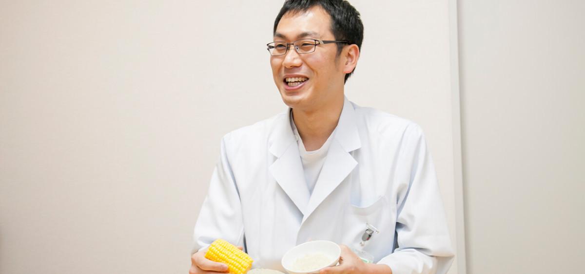 食事・栄養管理を通じて病気の改善に貢献できた時、やりがいを感じます。
