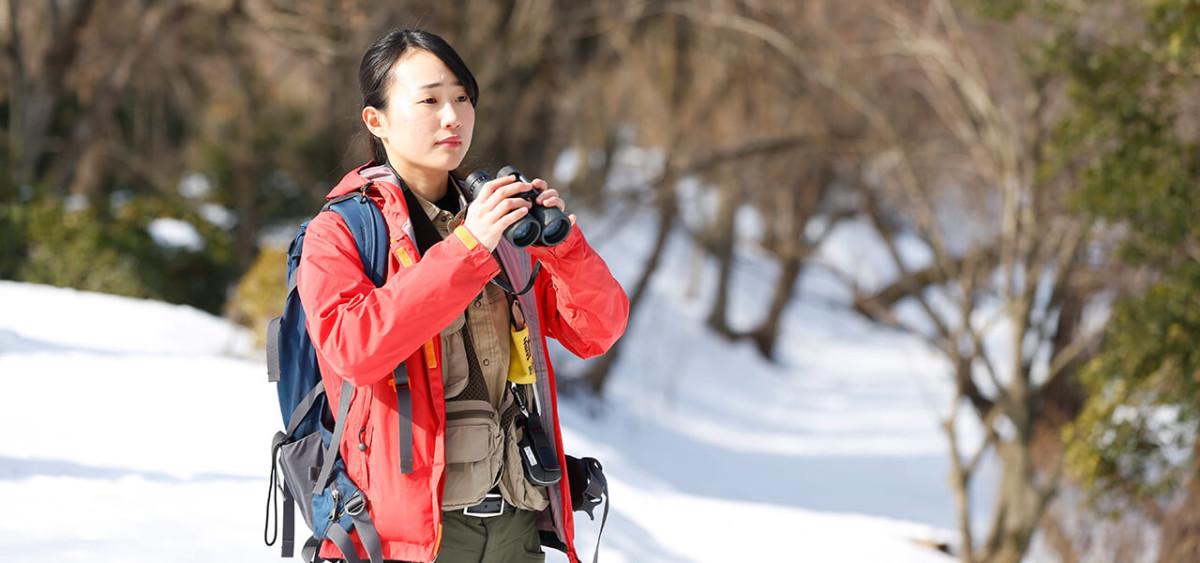 北海道各地での多岐にわたる実習の経験が現在の仕事に役立っています。
