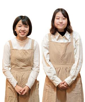 小岡 美紗代<small> さん</small>・山口 雛さん