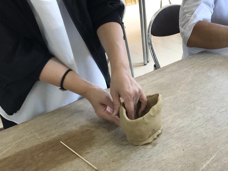萩焼制作体験5