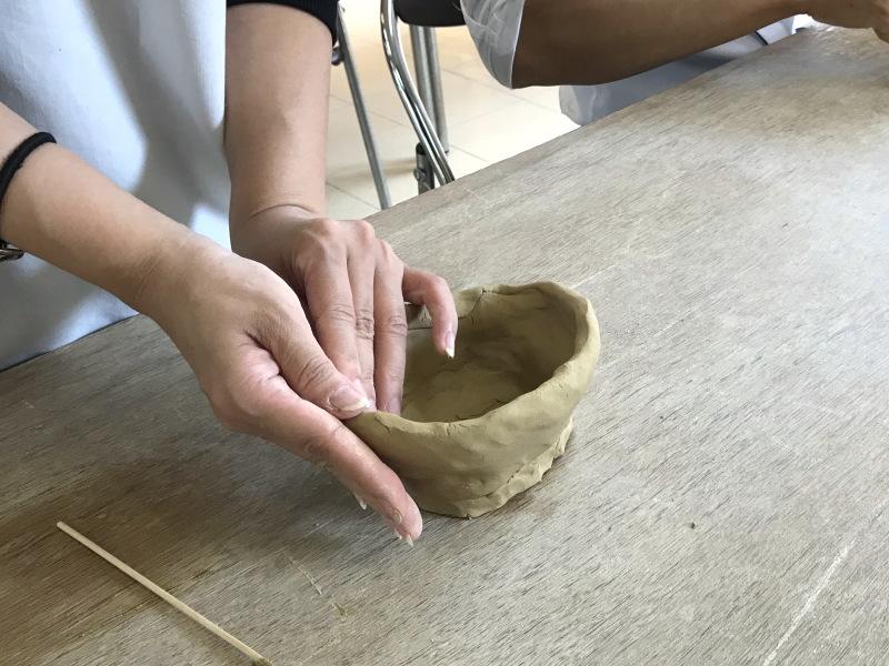 萩焼制作体験6