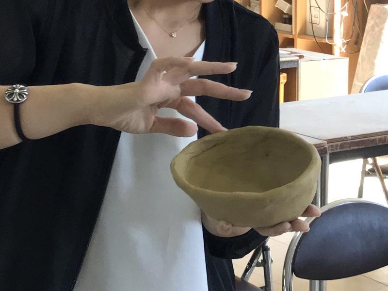 萩焼制作体験7