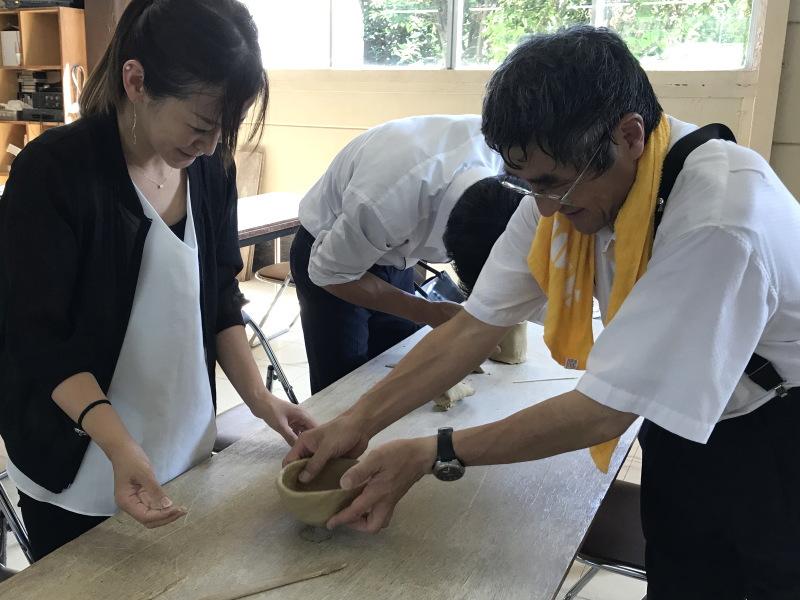 萩焼制作体験8