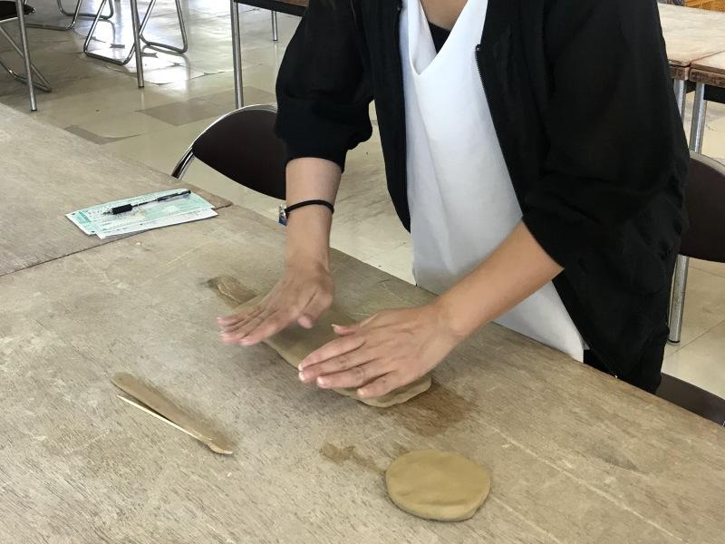 萩焼制作体験3