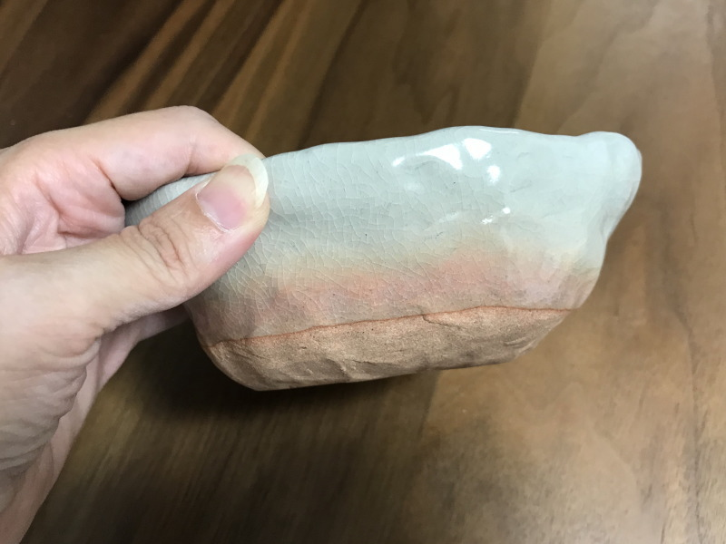 萩焼陶芸体験完成