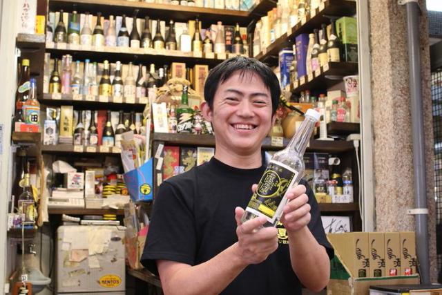 「琉夏」販賣便宜又好喝的泡盛酒, 很多廠牌是縣外沒有流通販賣的喔!