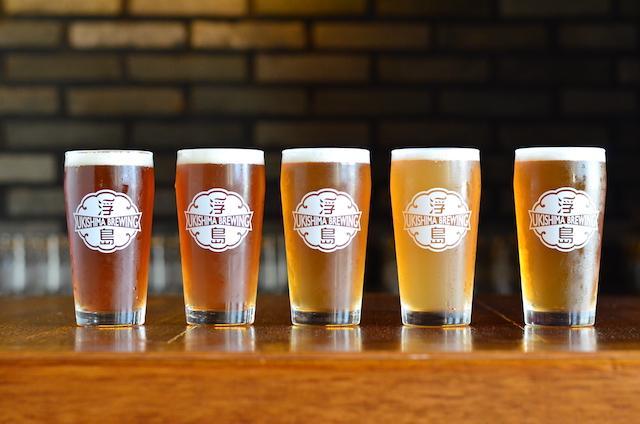 沖繩又誕生了一個小型啤酒廠,殘留著從前風貌的市場街道上,製作出的浮島啤酒(那霸市)