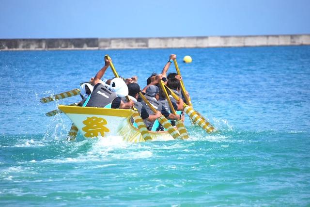 輕鬆的感覺很舒服;宣告夏天來臨的宮古島海神祭