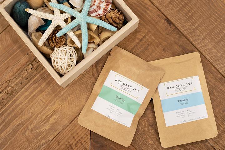 日常生活中的琉球茶;使用沖繩產素材的「RYU DAYS TEA」,讓身心都健康