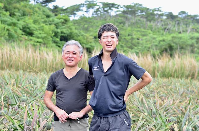 美味! 是有原因的;父子一起栽培的沖繩產鳳梨<名護市>