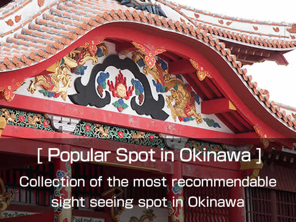 Popular Spot in Okinawa Collection of Recommendable Sight Seeing Spot. Please Check this out if you are beginners or repeaters.