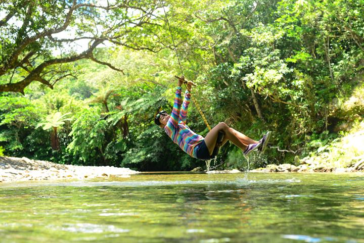 Playing at Hidden Spot, Genka River