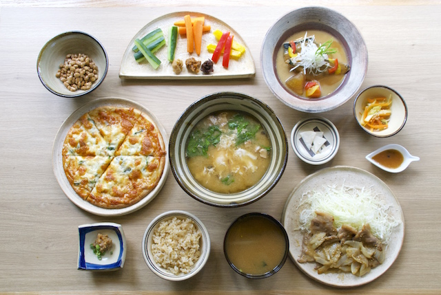 There is no shortcut to tasty food!  Miso-meshi-ya Marutama in Naha City serves new dishes with miso