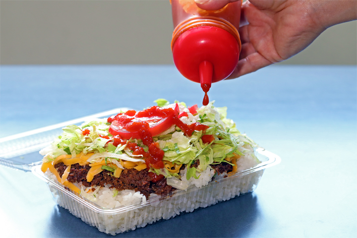 """Truly the """"First of the kind!"""" The Birthplace of Taco Rice, """"King Tacos Kin Main Branch"""""""