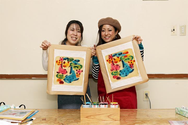 "Experience the Traditional Bingata at ""Gusuku Bingata Dyeing Studio!"""