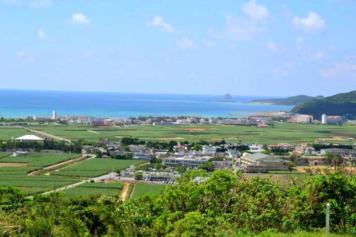 The Exhilarating View from Tonnaha-jo Castle Site on Kumejima Island