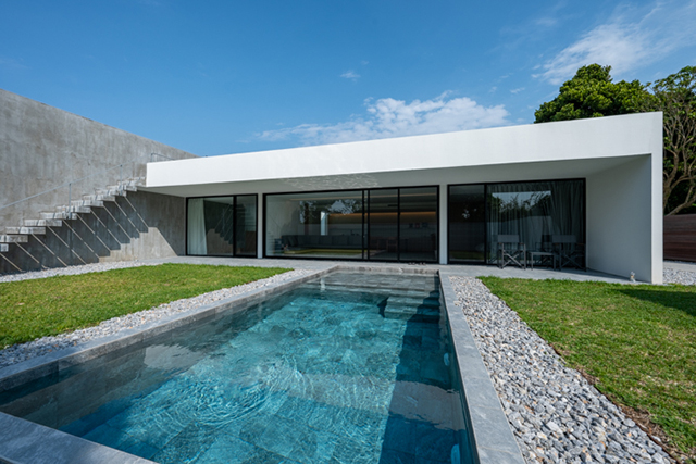 [KENKEN Reto Private Villa] welcomes its guests with thoughtful hospitality (limited to 1 party per day)