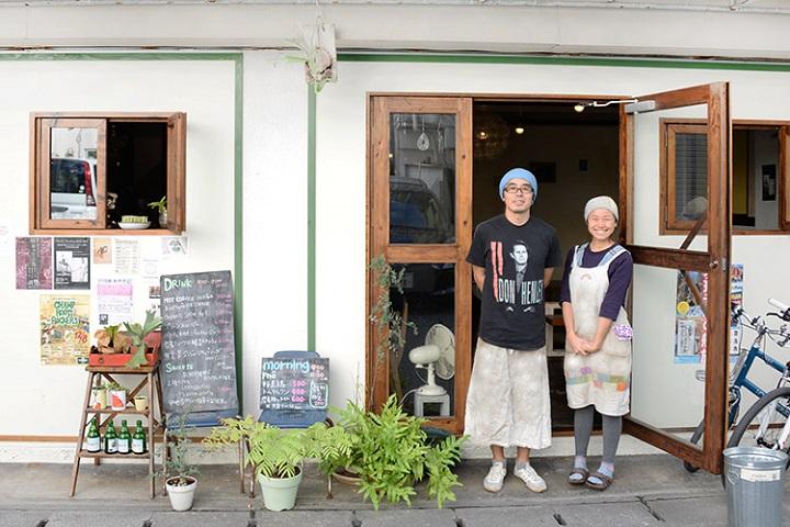 カフェ「Soi」の素敵なオーナーご夫妻