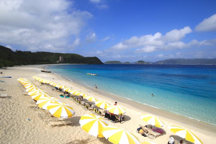 海開き2018!沖縄の古座間味ビーチの海開きはいつ?アクセス方法解説!