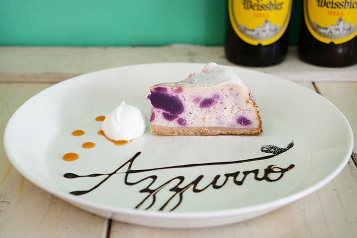 沖縄の特産品「紅芋」をつかったケーキは絶品