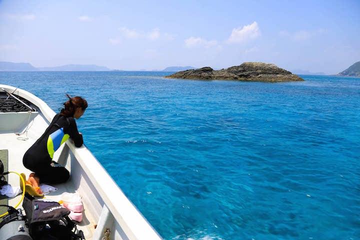 渡嘉敷島周辺にも魅惑のポイントが数多くあります