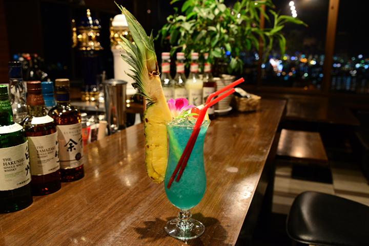 伊江島のラム酒を使ったトロピカルなカクテル