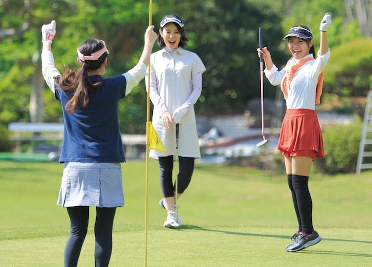 ゴルフを楽しむ学生が増えている?
