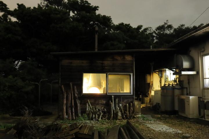 天然酵母パン作り小屋