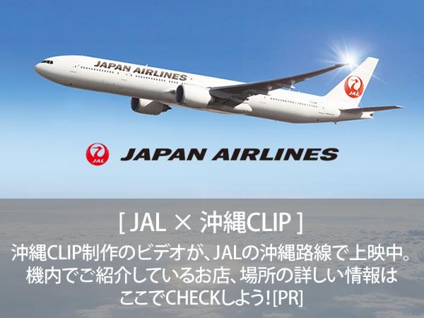 沖縄CLIP制作のビデオが、JALの沖縄路線で上映中。