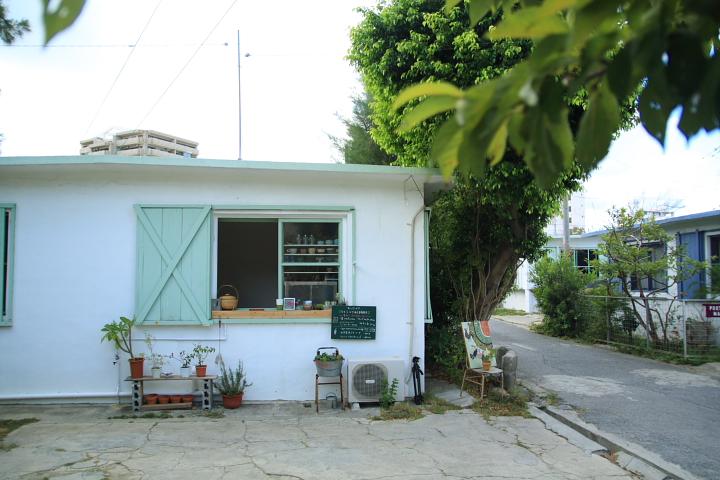 港川の外人住宅を改装したオシャレなお店