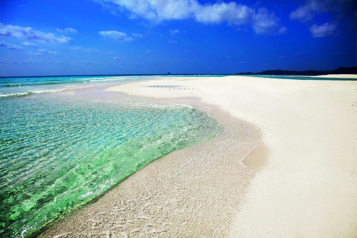 絶景「はての浜」