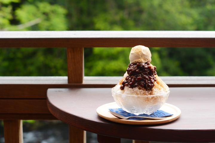 比地カフェで味わえる沖縄ぜんざい