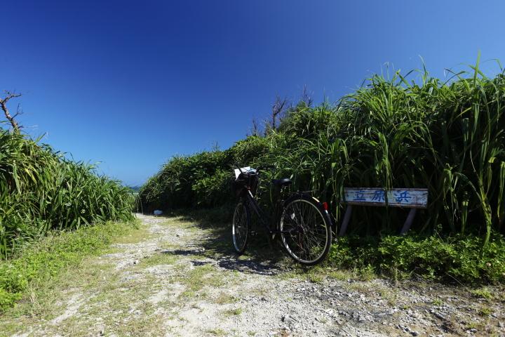 【リトハク×沖縄CLIPコラボ】瑠璃色の海に囲まれた小さな「鳩間島」を気ままに自転車トリップ♪