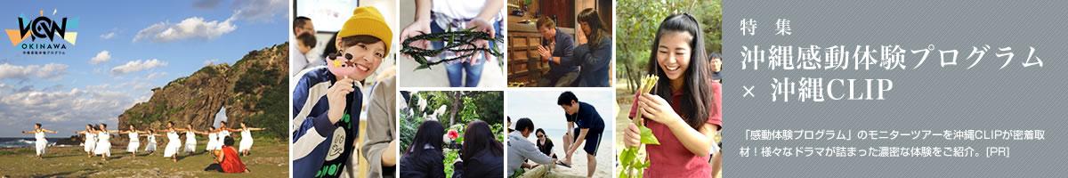 特集一覧:沖縄感動体験プログラム
