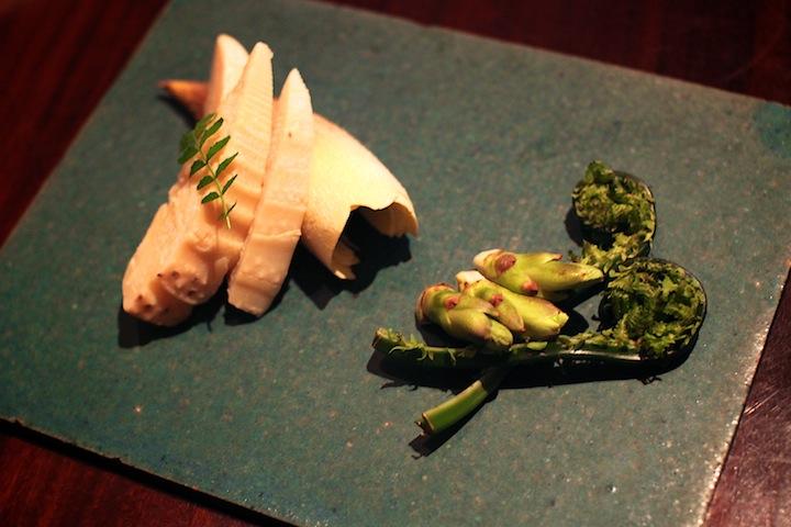繊細な京野菜