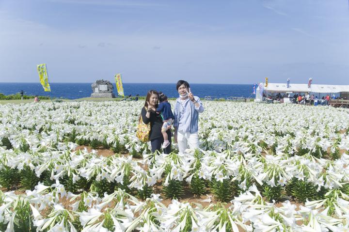 沖縄5月のおすすめイベント:ゆり祭り