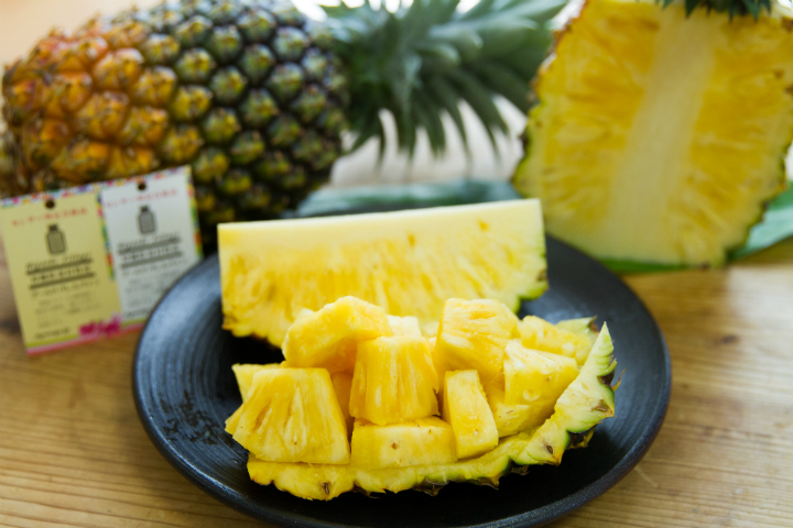 ゴールドバレルというパイナップル