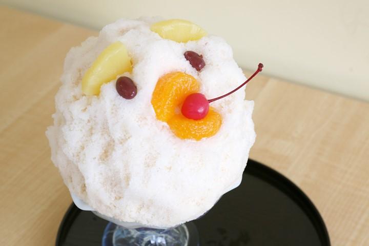 食べてしまうのがもったいない? おいしくて可愛い糸満名物のふんわりかき氷=白熊『いなみね』