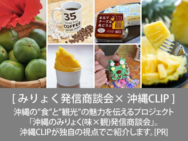 みりょく発信商談会 × 沖縄CLIP