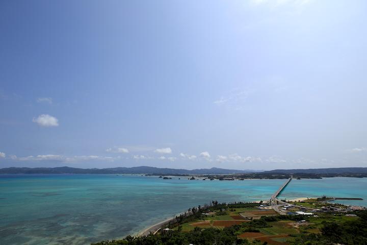 古宇利島と本島を結ぶ橋