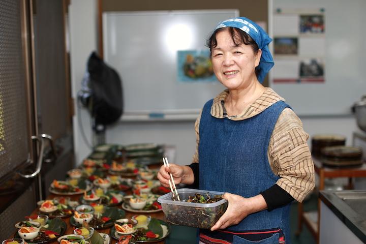人気メニュー「長寿膳」