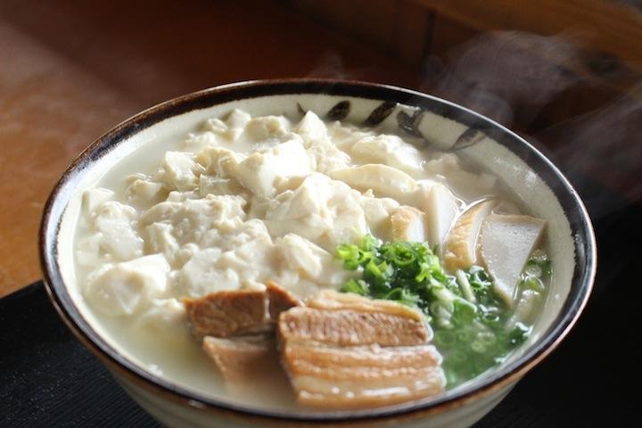 ゆし豆腐そば