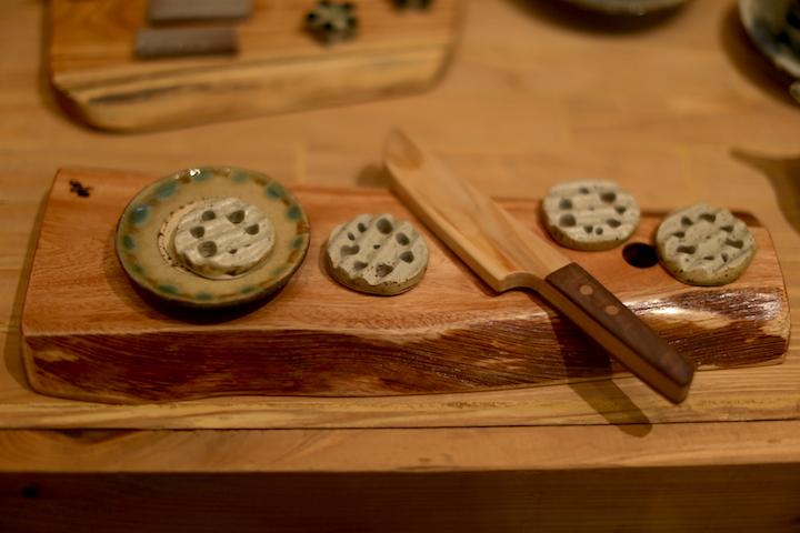 陶器のレンコン