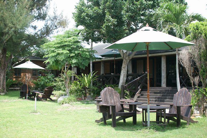 緑豊かな癒しカフェ「フウカフェ」(本部町)