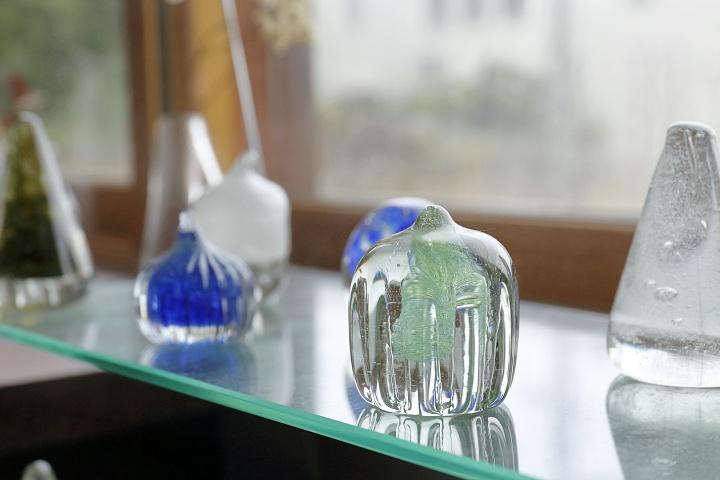 廃ガラスに命を吹き込んで♪美しく優しい雰囲気のガラスアイテムに