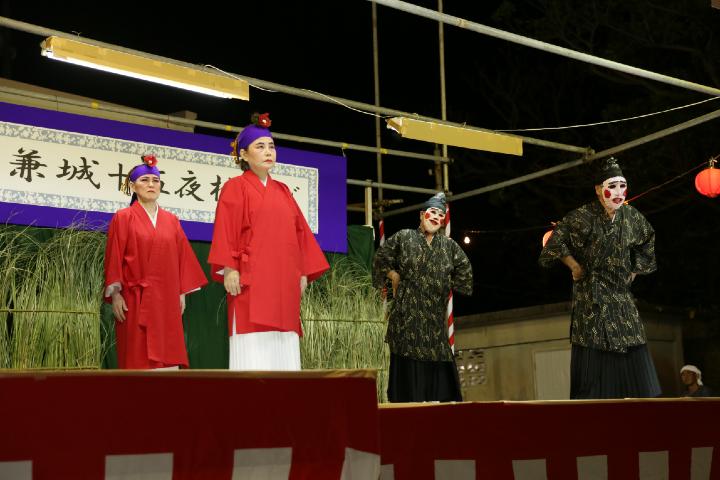 兼城の三大伝統芸能のひとつ「しゅんどう」